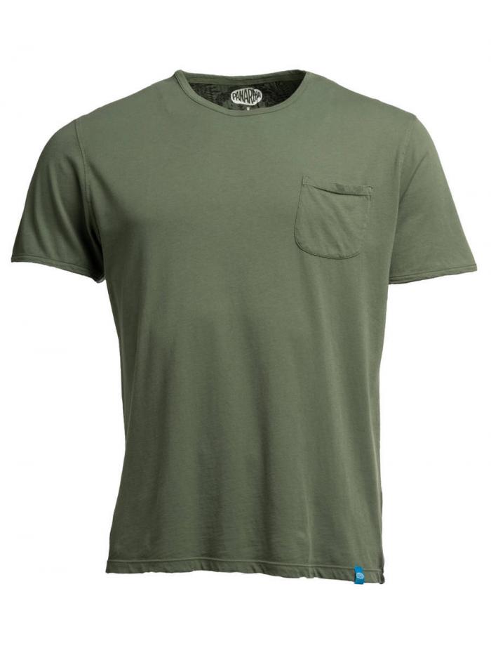 PANAREHA t-shirt con taschino MARGARITA TH1801G02