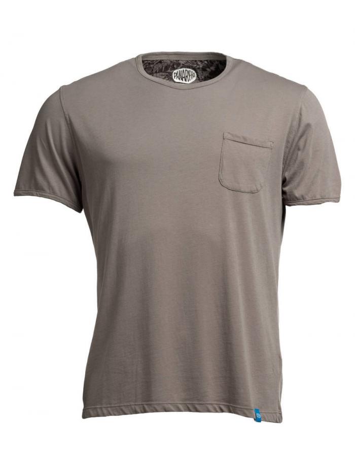 PANAREHA t-shirt con taschino MARGARITA TH1801G03