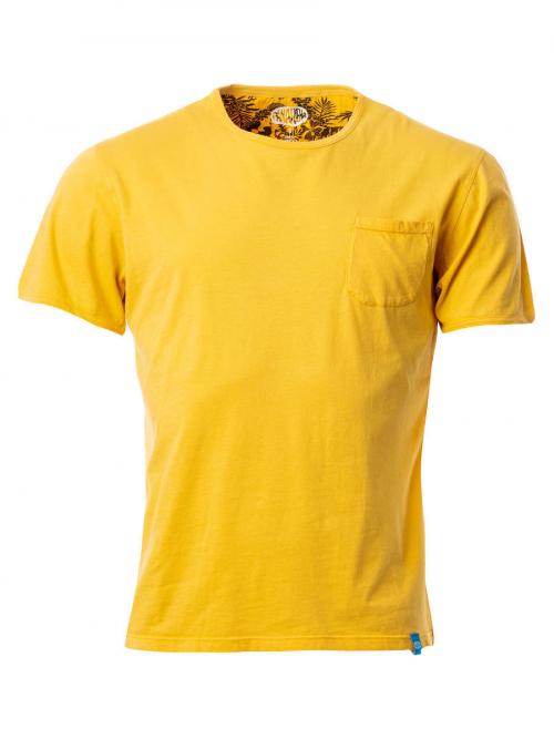 PANAREHA t-shirt com bolso MARGARITA TH1801G10