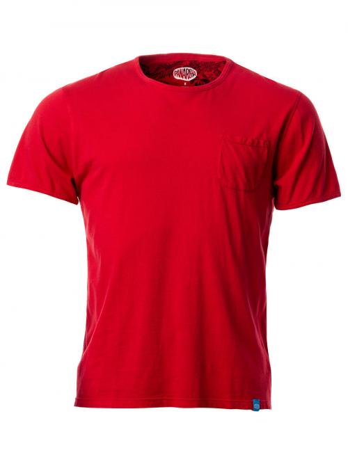 PANAREHA camiseta con bolsillo MARGARITA TH1801G11