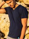 Panareha® t-shirt decote em v MOJITO | TH1802G01
