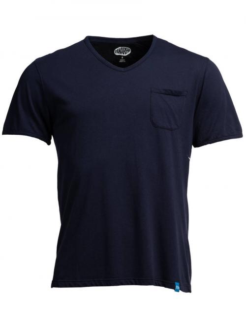 PANAREHA t-shirt scollo a v MOJITO TH1802G01