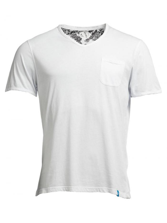 PANAREHA t-shirt scollo a v MOJITO TH1802G09