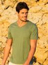 Panareha® t-shirt décolleté en v MOJITO | TH1802G09