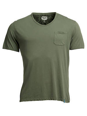 PANAREHA MOJITO v-neck tee TH1802G02