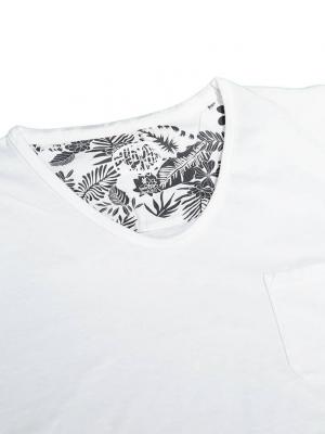 Panareha® t-shirt decote em v MOJITO | TH1802G02