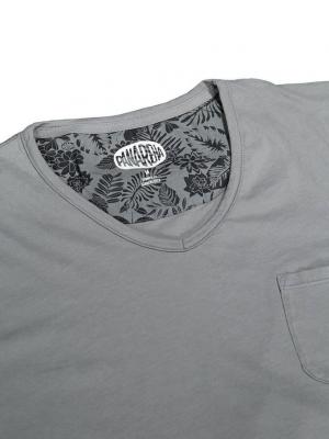PANAREHA t-shirt scollo a v MOJITO TH1802G03