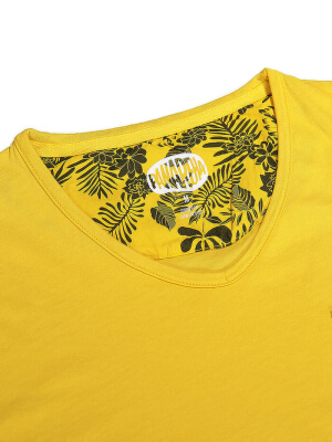 PANAREHA t-shirt décolleté en v MOJITO TH1802G10