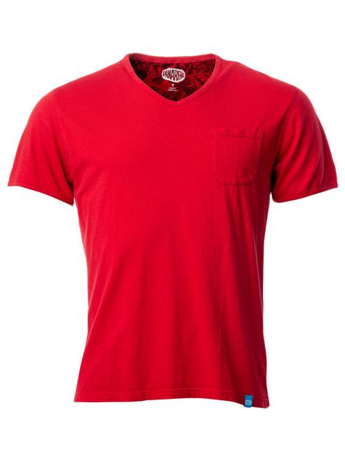 Panareha® t-shirt scollo a v MOJITO | TH1802G11