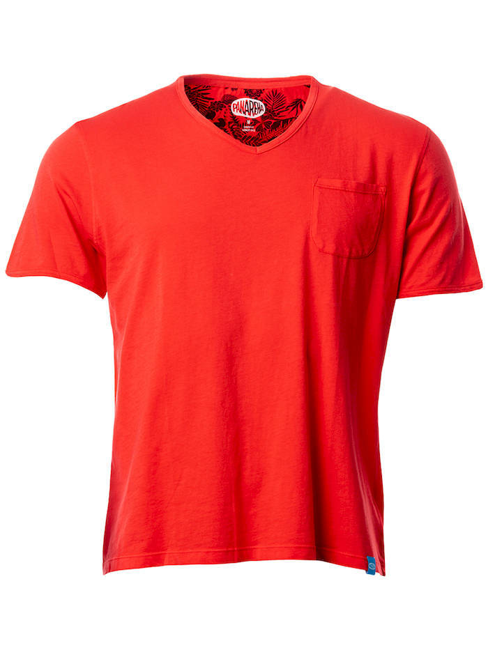 PANAREHA t-shirt decote em v MOJITO TH1802G06
