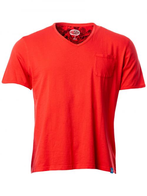 PANAREHA t-shirt scollo a v MOJITO TH1802G06