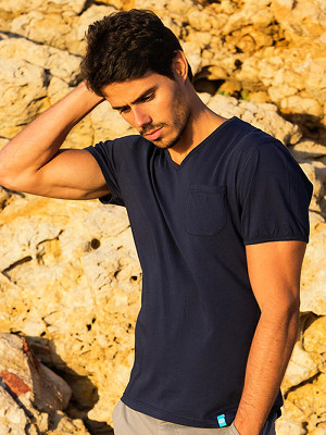 PANAREHA MOJITO v-neck tee TH1802G12