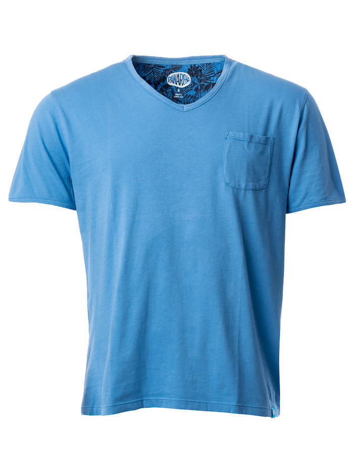 Panareha®   t-shirt decote em v MOJITO