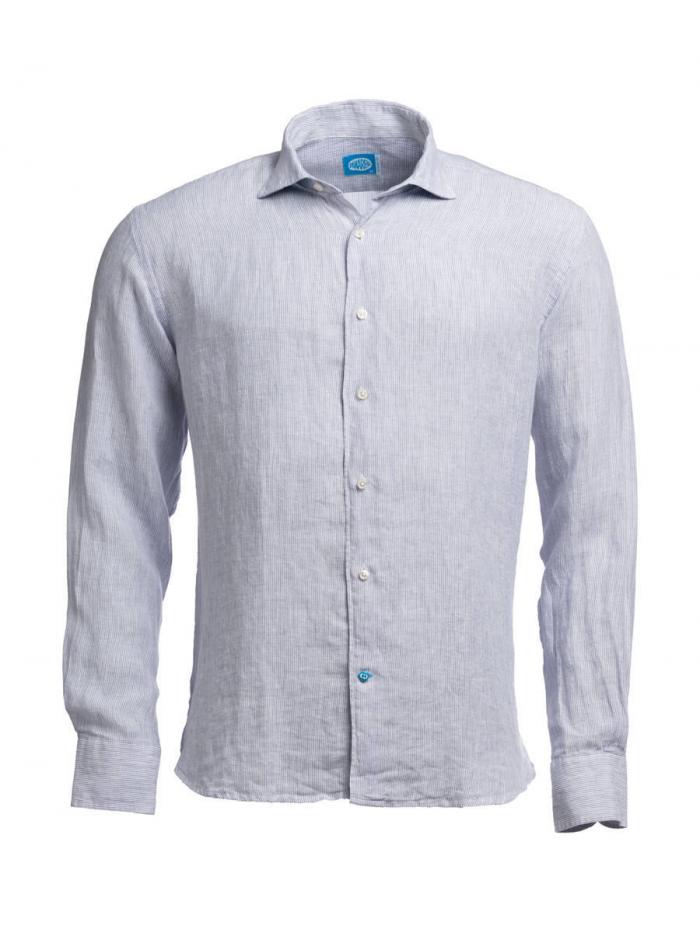 Panareha®   Camisa de lino con rayas PHUKET