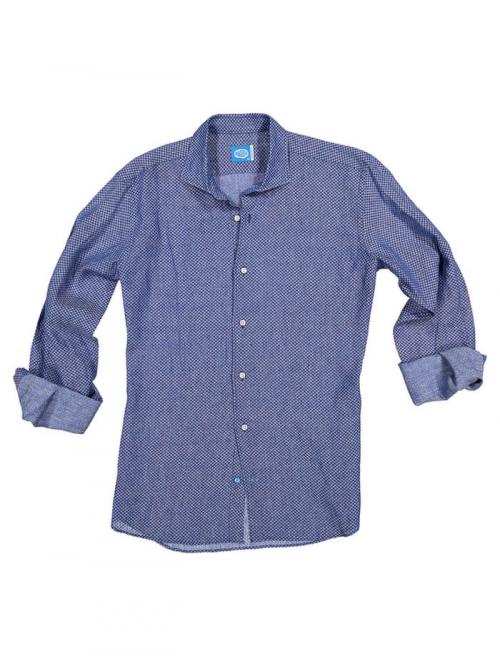 PANAREHA camicia di lino MO'OREA CH1806F03