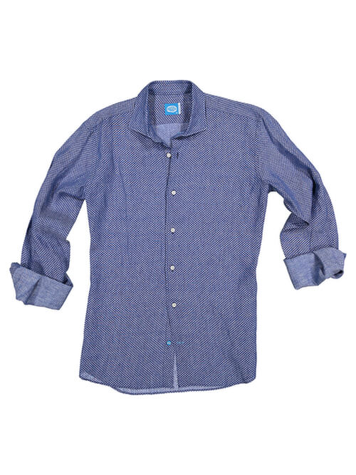PANAREHA chemise en lin MO'OREA CH1806F03