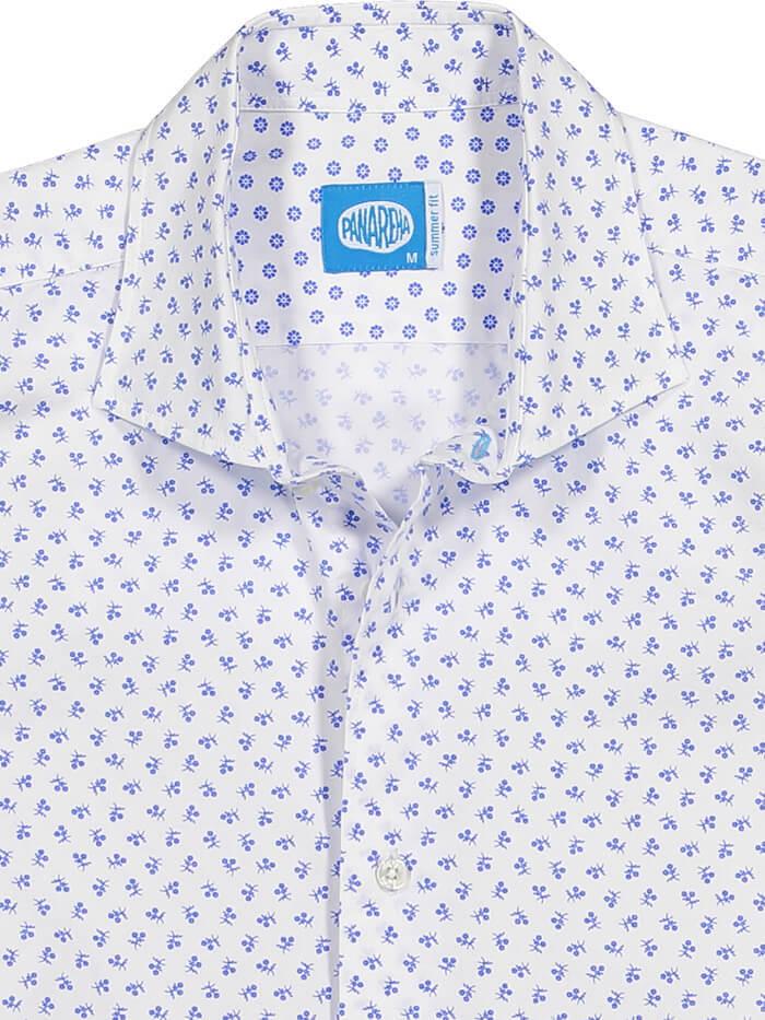 Panareha® | TARIFA flowers shirt