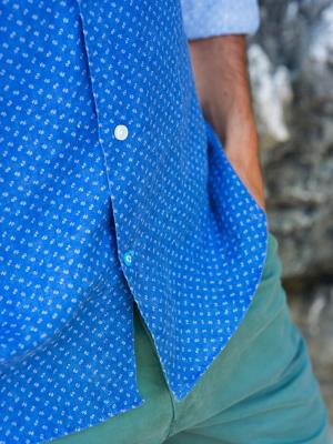 PANAREHA COPACABANA linen shirt CH1803F02