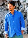 Panareha® camisa de linho COPACABANA | CH1803F02