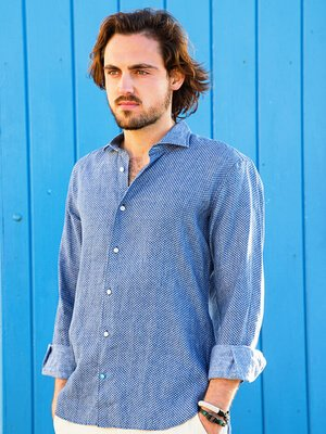 PANAREHA camisa de lino MO'OREA CH1806F03