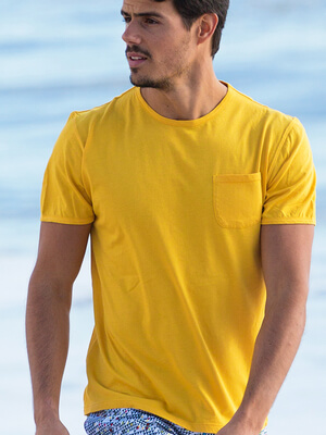 Panareha® camiseta con bolsillo MARGARITA | TH1801G10