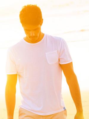 Panareha® t-shirt com bolso MARGARITA   TH1801G06