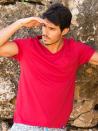 Panareha® t-shirt decote em v MOJITO | TH1802G09