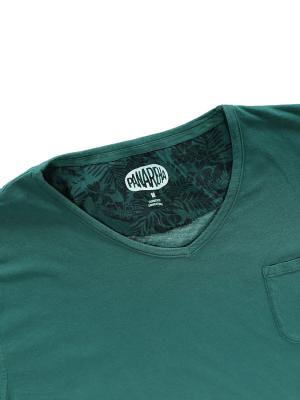 Panareha® MOJITO v-neck t-shirt | TH1802G02