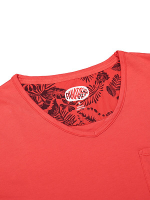 Panareha® MOJITO v-neck tee | TH1802G07