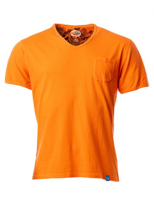 Panareha® t-shirt decote em v MOJITO | TH1802G07