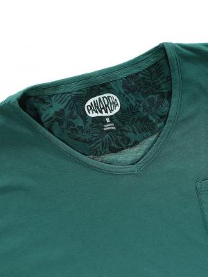 Panareha® t-shirt scollo a v MOJITO | TH1802G13