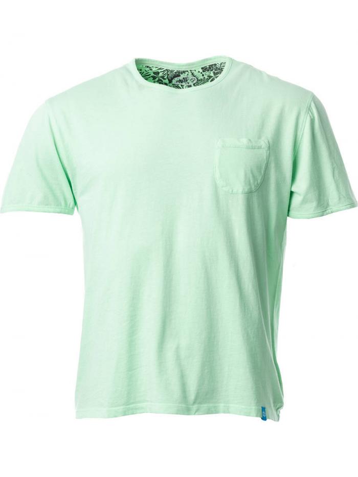 PANAREHA t-shirt com bolso MARGARITA TH1801G01