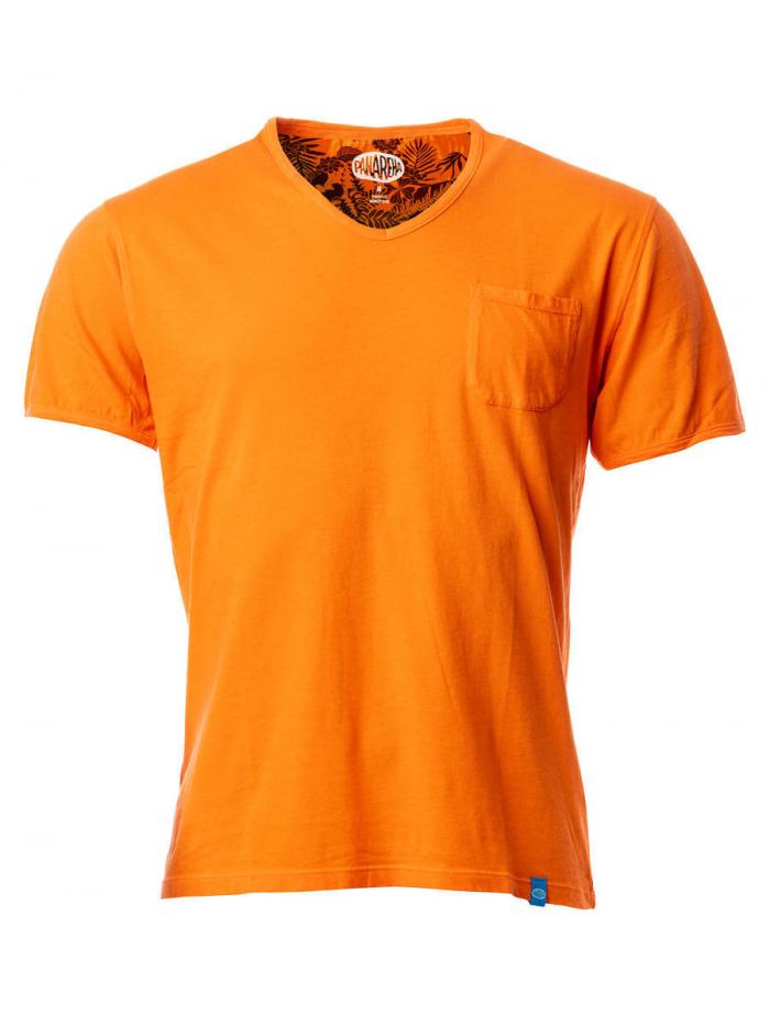 Panareha® t-shirt decote em v MOJITO | TH1802G14
