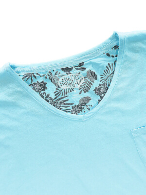Panareha® MOJITO v-neck t-shirt | TH1802G14