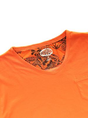 Panareha® t-shirt decote em v MOJITO | TH1802G15