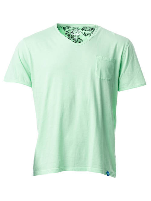 PANAREHA t-shirt décolleté en v MOJITO TH1802G15