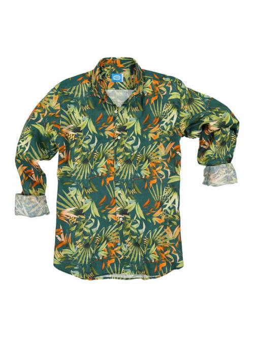 PANAREHA camicia di lino MAUI CH1852F10
