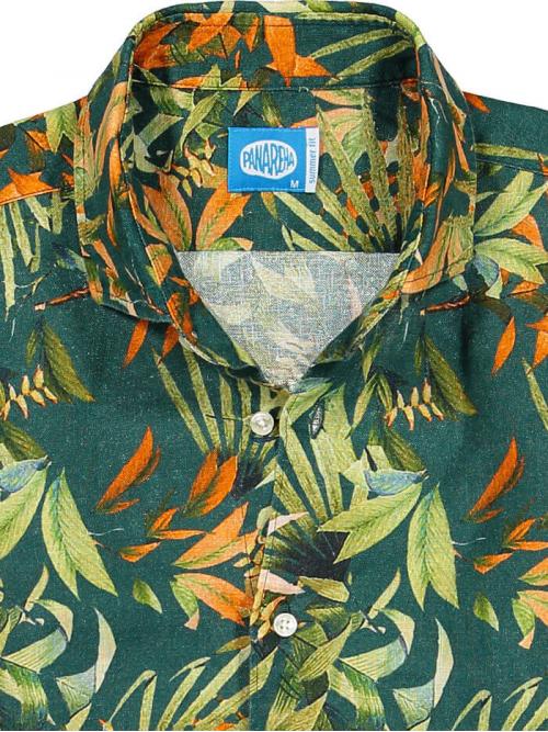 PANAREHA chemise en lin MAUI CH1852F10
