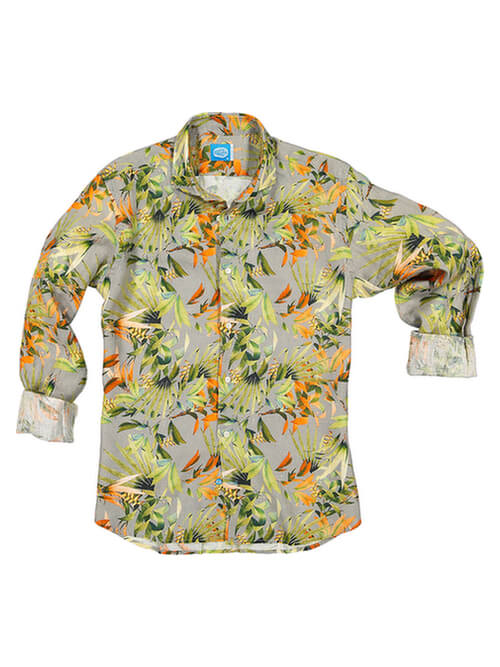 PANAREHA camicia di lino MAUI CH1852F11