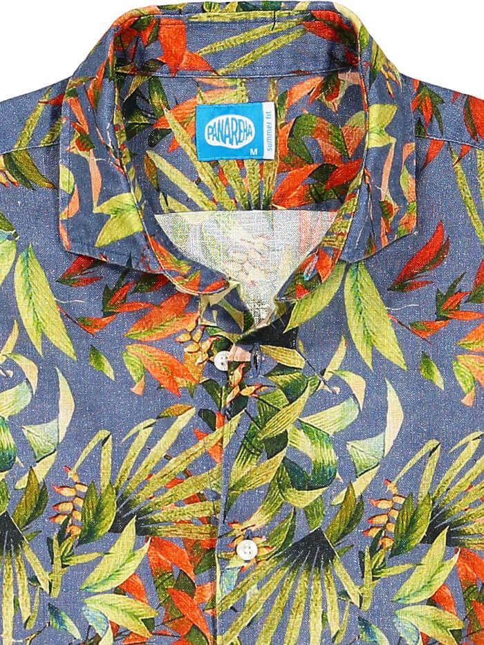 Panareha® camisa de lino MAUI | CH1852F12