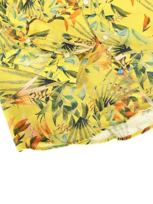 PANAREHA MAUI leinenhemd CH1852F13