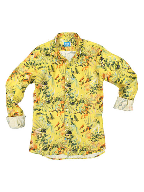 PANAREHA MAUI linen shirt CH1852F13