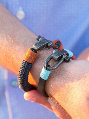 Panareha® | braccialetto di pelle CLOUDBREAK