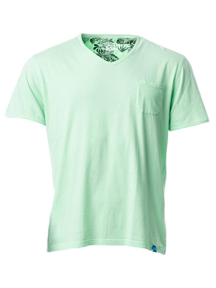Panareha® t-shirt decote em v MOJITO | TH1802G06