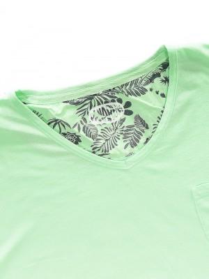 Panareha® t-shirt scollo a v MOJITO | TH1802G10