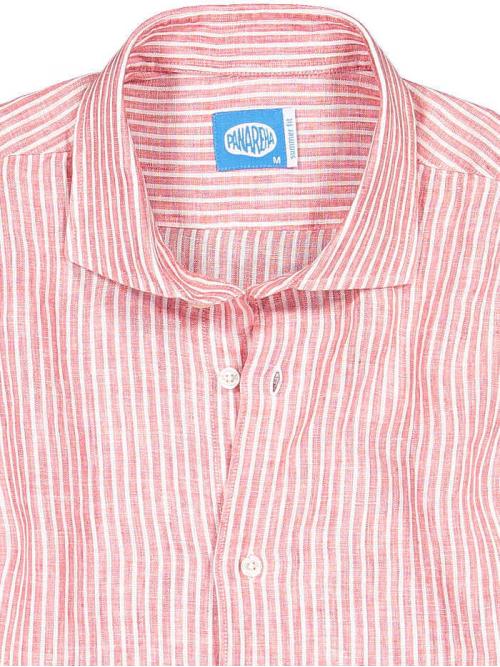 Panareha® chemise en lin à rayures CORSICA | CH1908S14
