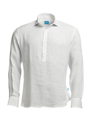 Panareha® | MAMANUCA linen polera shirt