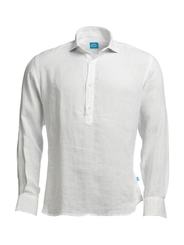 Panareha® MAMANUCA linen polera shirt | CH1962100