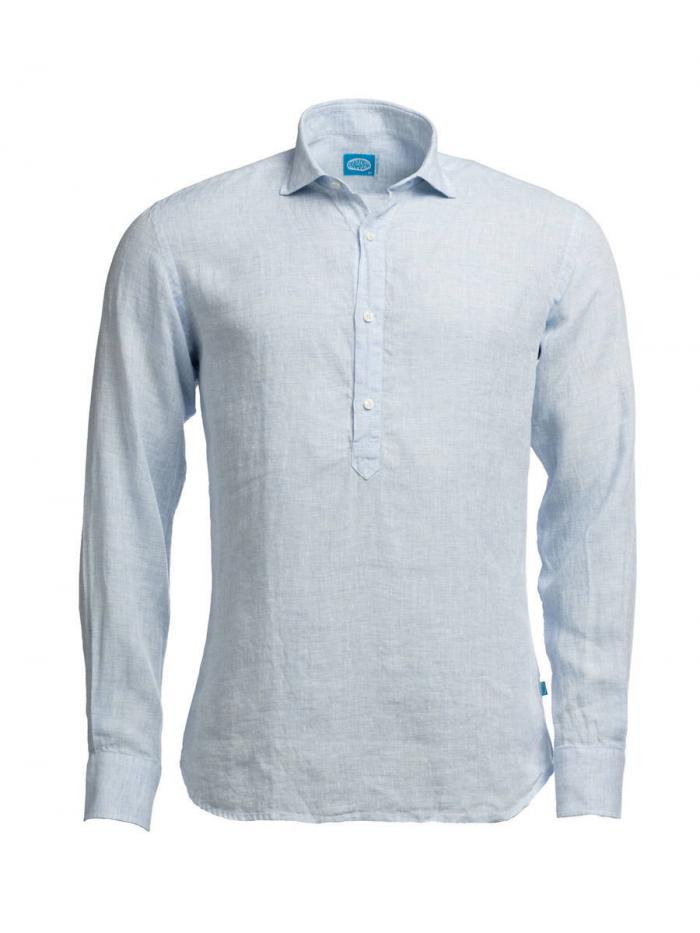 Panareha® MAMANUCA leinen polera shirt | CH1962514