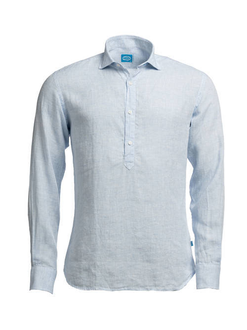 Panareha® MAMANUCA linen polera shirt | CH1962514